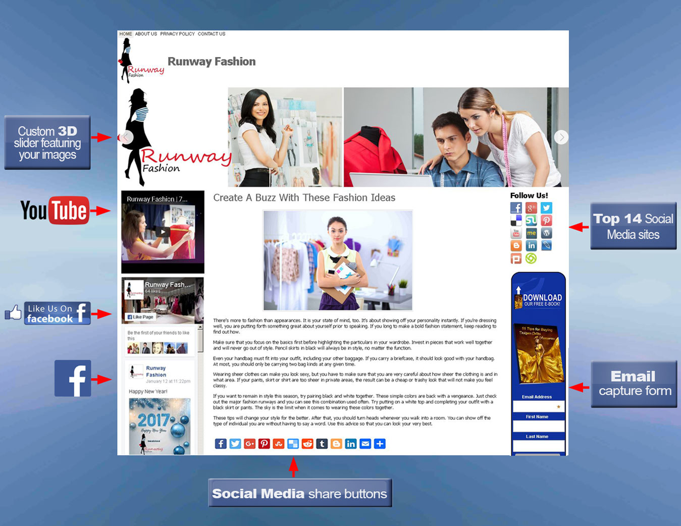 wordpress-blog-with-labels-fashion