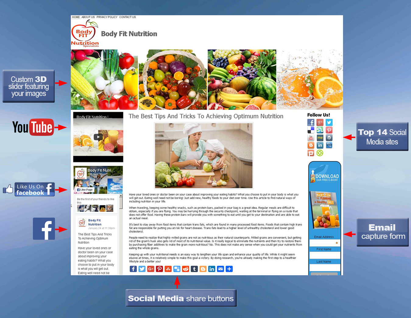 wordpress-blog-with-labels-nutrition