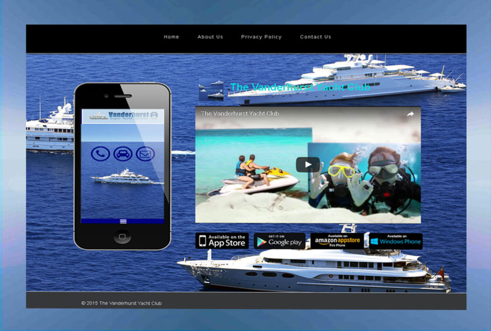 mobile-website-yacht