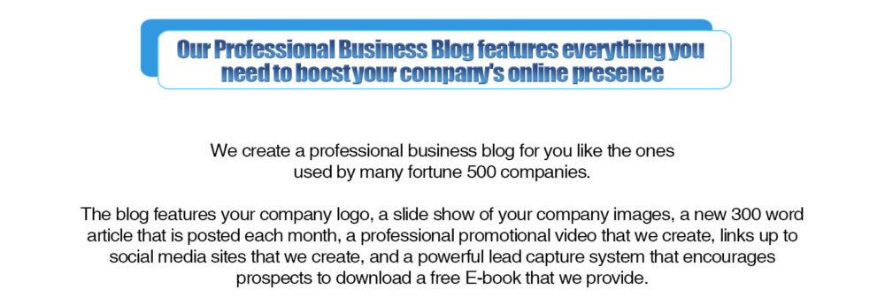 our-professional-business-blog